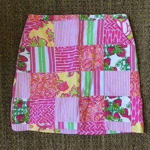"""NEW Lilly Pulitzer Karlo Skirt in """"Local Patch"""""""